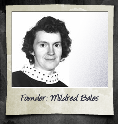 Founder Mildred Bales