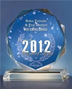 2012 Best of Newport News Award