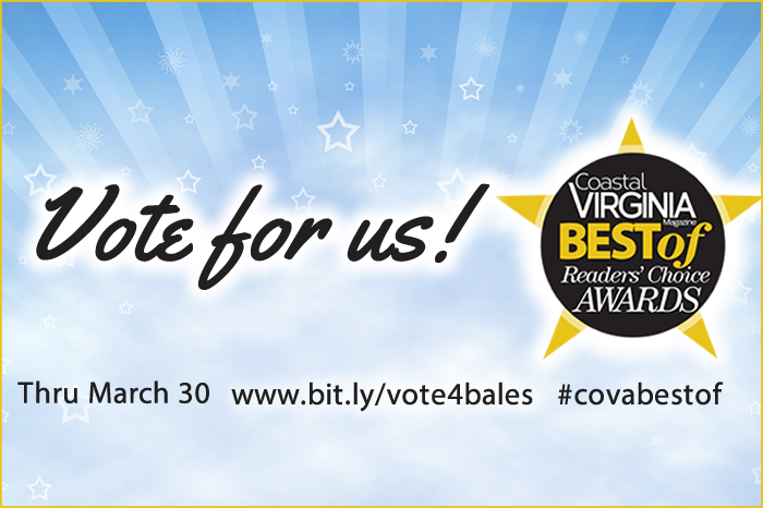 2018 Vote Bales Pest Control for CoVA Best Of