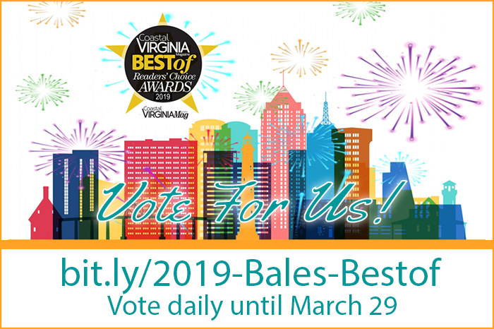 Vote for Bales Pest Control for Best of Coastal Virginia